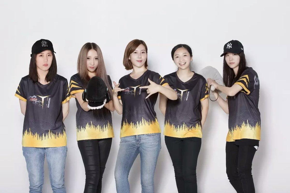 中国初、女性のみのプロeスポーツチーム