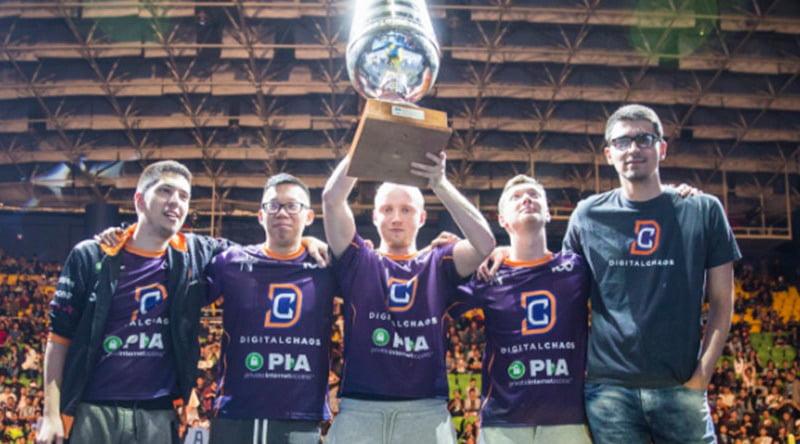 eスポーツタイトルDota2のプロチーム、DigitalChaosがチームをまるごと入れ替え