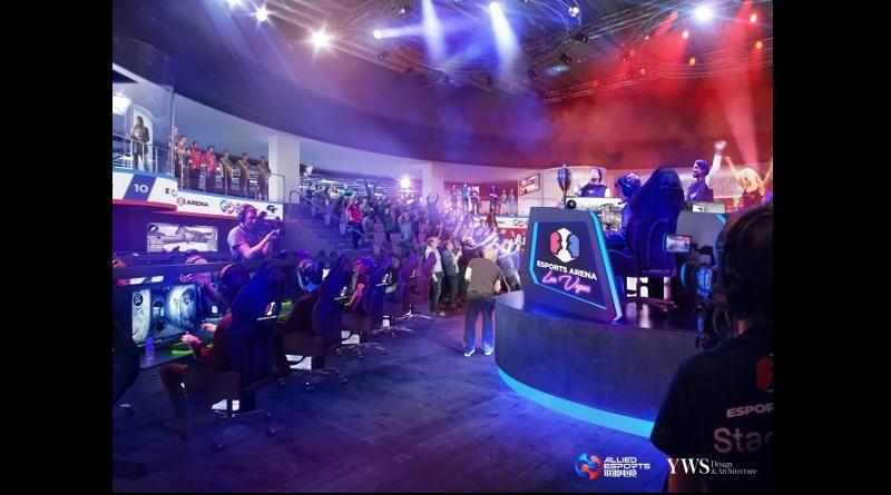 ラスベガスにeスポーツ専用会場が開設予定