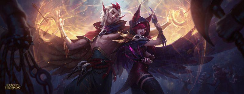 League of Legends 二体の新チャンピオン、ザヤ&ラカンが発表
