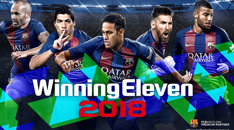 公式eスポーツ大会も開催されているウイニングイレブンシリーズ最新作「ウイニングイレブン 2018」が9月14日に発売決定