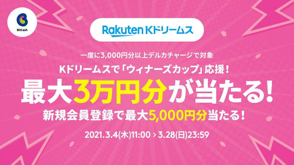 Kドリームスで「ウィナーズカップ」応援!最大3万円分が当たる!